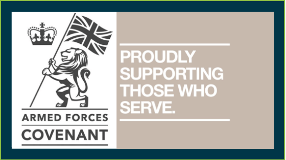 We Fix Feet signs Armed Forces Covenant