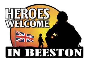 Heroes Welcome in Beeston at We Fix Feet