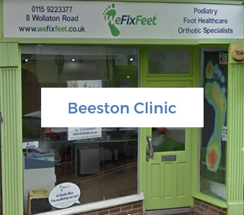 Beeston Podiatry and Foot Care clinic frontage