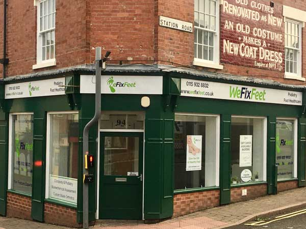 external image of We Fix Feet Podiatry and Foot Care clinic in Ilkeston - East Midlands