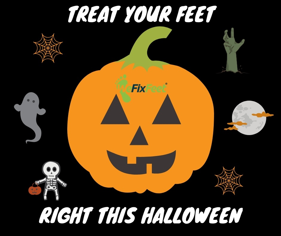 Ten Tips to Treat Your Feet on Halloween Night