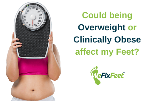 Can Weight affect my Feet?