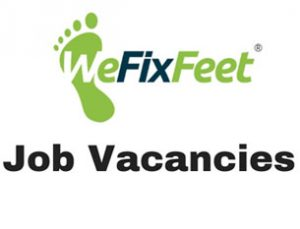 Podiatrist, Foot Care and Clinical Receptionist Job Vacancies at We Fix Feet Limited