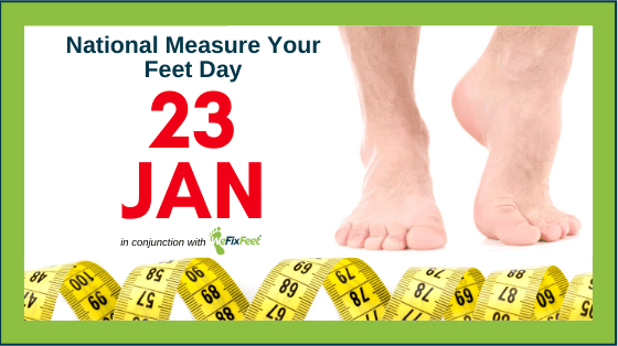 National Measure Your Feet Day