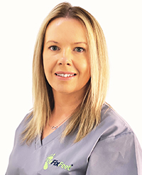Sarah is a registered Foot Health Practitioner.