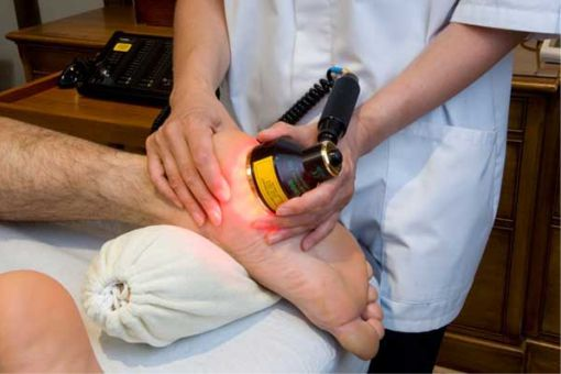 Laser therapy is a painless footcare treatment
