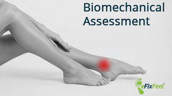 Biomechanical assessment is the analysis of the body's movements.