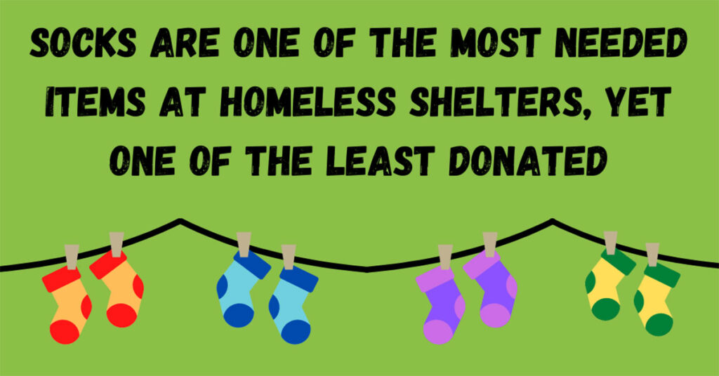 Socks for the homeless – Could you spare a pair?