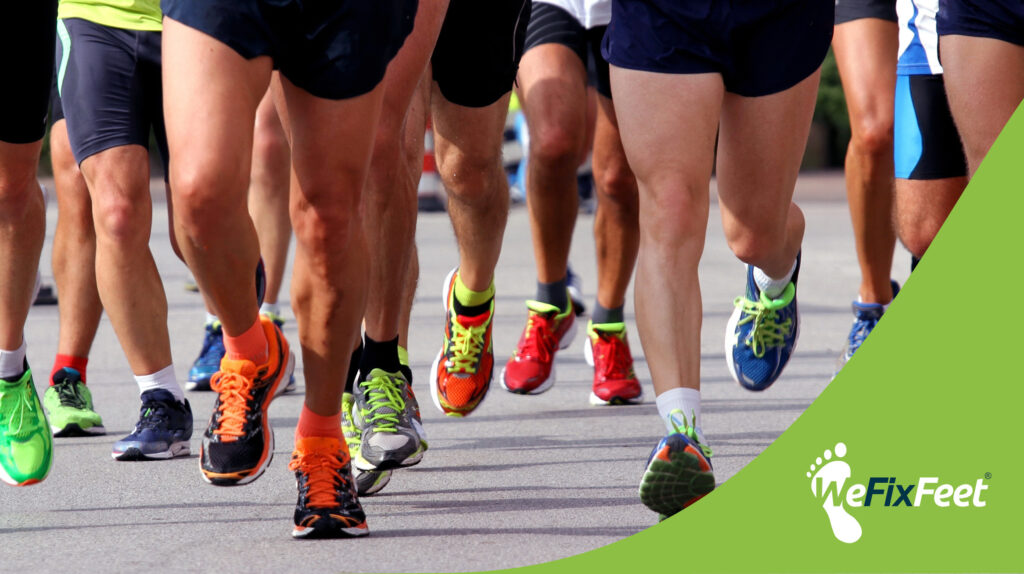 What are the most common running foot injuries?