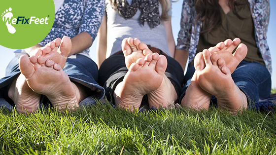 How do you prevent cracked heels this summer?