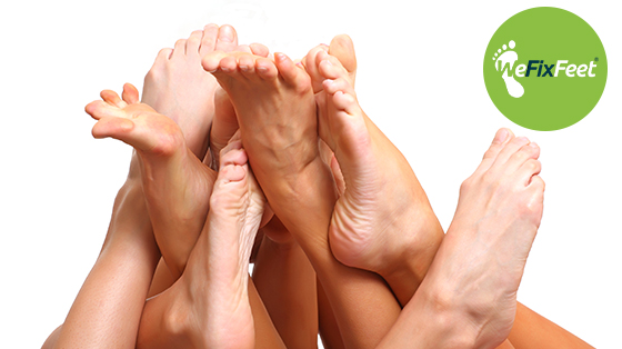 What causes thickened toenails?