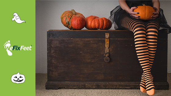 TLC for your feet – Are your feet killing you this Halloween?